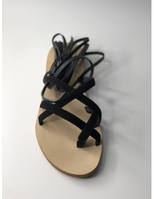 Sandalo schiava nero