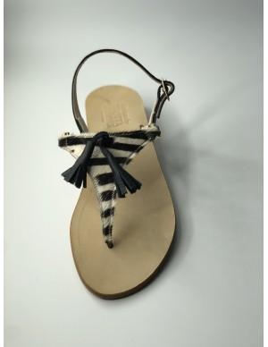Sandalo zebrato