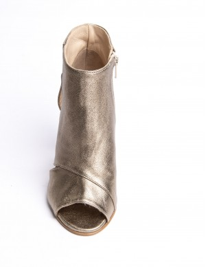 Tronchetto open-toe oro