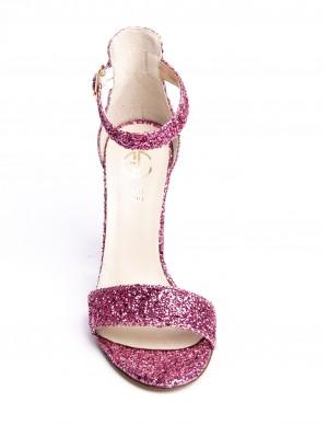 Sandalo glitter fucsia