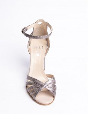 Sandalo glitter multicolor
