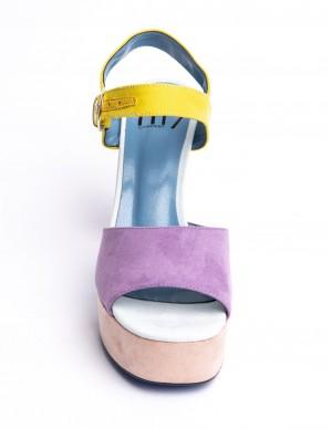 Sandalo con plateaux