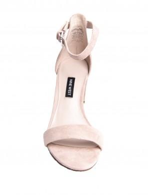 Sandalo camoscio rosa