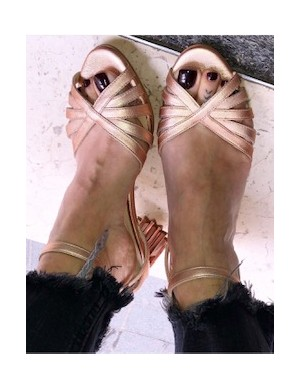 Sandalo tacco stella